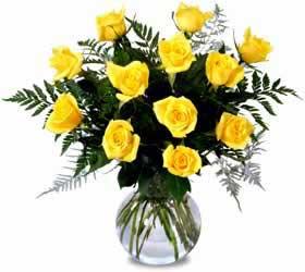 Cam Vazoda Sarı Güller