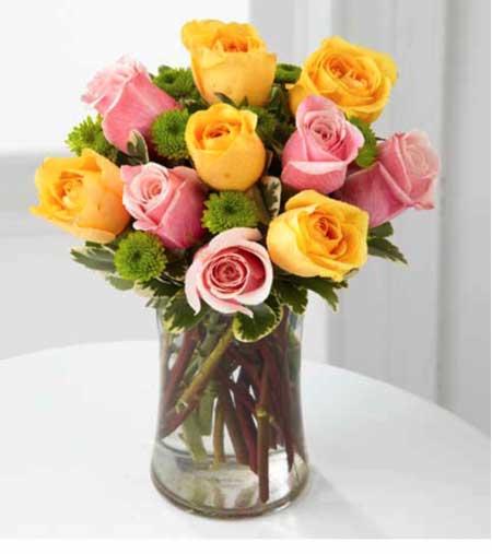 Sarı Renkli Güller